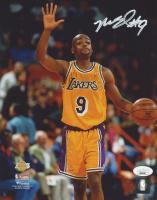 Nick Van Exel Signed Lakers 8x10 Photo (JSA COA) at PristineAuction.com