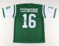 Vinny Testaverde Signed Jersey (JSA Hologram) at PristineAuction.com