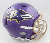 Odafe Oweh Signed Ravens Full-Size Flash Alternate Speed Helmet (JSA COA) (See Description) at PristineAuction.com