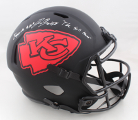 """L'Jarius Sneed Signed Chiefs Full-Size Eclipse Alternate Speed Helmet Inscribed """"Eager To Kill"""" & """"The Ball Hawk"""" (JSA COA) at PristineAuction.com"""