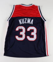 Kyle Kuzma Signed Jersey (Beckett Hologram) at PristineAuction.com