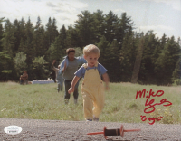 "Miko Hughes Signed ""Pet Sematary"" 8x10 Photo Inscribed ""Gage"" (JSA COA) at PristineAuction.com"