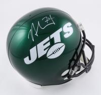 Nick Mangold Signed Jets Full-Size Helmet (Beckett Hologram) (See Description) at PristineAuction.com