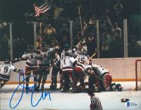 Jim Craig Signed Team USA 8x10 Photo (Beckett COA) at PristineAuction.com