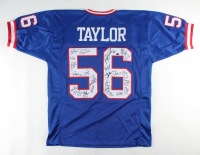 Super Bowl XXI & XXV Champions Jersey Team-Signed by (26) with Lawrence Taylor, Phil Simms, Jeff Hostetler, Carl Banks, Ottis Anderson (Schwartz COA) at PristineAuction.com