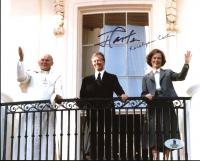 Jimmy Carter & Rosalynn Carter Signed 8x10 Photo (Beckett COA) at PristineAuction.com