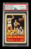 Jerry West Signed 1973 Topps All-Star #100 (PSA Encapsulated) at PristineAuction.com