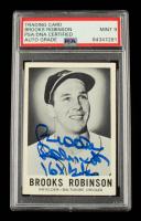 "Brooks Robinson Signed 1960 Leaf #27 Inscribed ""16x GG"" (PSA Encapsulated) at PristineAuction.com"