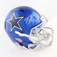Tony Romo Signed Cowboys Full-Size Flash Alternate Speed Helmet (Beckett Hologram) at PristineAuction.com