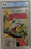 """1966 """"Spyman"""" Issue #1 Harvey Publications Comic Book (CGC 6.0) at PristineAuction.com"""