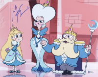 """Grey Griffin Signed """"Star vs. the Forces of Evil"""" 11x14 Photo (Beckett COA) (See Description) at PristineAuction.com"""