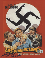 """Mel Brooks Signed """"The Producers"""" 8x10 Photo (Beckett COA) at PristineAuction.com"""