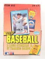 1987 Fleer Baseball Cello Box of (24) Packs at PristineAuction.com