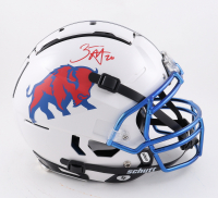 Zack Moss Signed Full-Size Authentic On-Field F7 Helmet (Beckett Hologram) (See Description) at PristineAuction.com