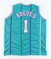 Muggsy Bogues Signed Jersey (Beckett Hologram) at PristineAuction.com