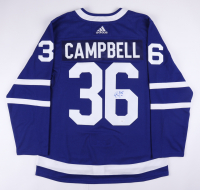 Jack Campbell Signed Maple Leafs Jersey (JSA COA) at PristineAuction.com