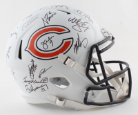 1985 Bears Team Signed LE Full-Size Lunar Eclipse Alternate Speed Helmet Signed By (28) with Richard Dent, Mike Singletary, Mike Ditka, Jim McMahon, Dan Hampton (Schwarts Sports COA) at PristineAuction.com