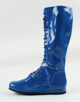 """Ric Flair Signed Wrestling Boot Inscribed """"16x"""" (Schwartz COA) at PristineAuction.com"""
