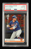 Pete Alonso 2019 Topps Chrome #204 RC (PSA 10) at PristineAuction.com
