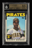 Barry Bonds 1986 Topps Traded #11T RC (BGS 9.5) at PristineAuction.com