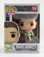 "Mario Andretti Signed ""Mario Andretti"" #10 Mario Andretti Pop! Vinyl Figure (JSA COA) at PristineAuction.com"