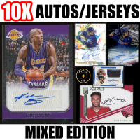 Mystery Ink 10X Mixed Edition Mystery Box Pack - 10 Cards in Every Pack! Autos, Jersey Patches, & Relics! at PristineAuction.com