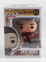 "Pete Wentz Signed ""Fall Out Boy"" Peter Wentz #211 Funko Pop Vinyl Figure (JSA COA) at PristineAuction.com"