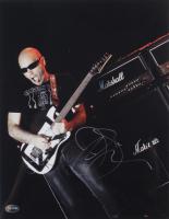 Joe Satriani Signed 11x14 Photo (PSA COA) at PristineAuction.com