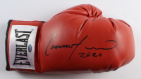 """Lennox Lewis Signed Everlast Boxing Glove Inscribed """"2020"""" (Schwartz Sports COA) at PristineAuction.com"""