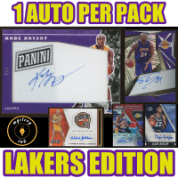 Mystery Ink Auto Pack – LOS ANGELES LAKERS Edition! Mystery Box (1) Autograph Card in Every Pack! at PristineAuction.com