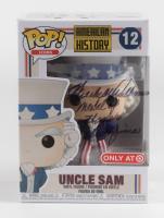 "Hershel ""Woody"" Williams Signed ""American History"" Uncle Sam #12 Funko Pop Vinyl Figure Inscribed ""Medal of Honor"" & ""Iwo Jima"" (JSA COA) at PristineAuction.com"