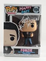"Henry Winkler Signed ""Fonzie"" #1124 Happy Days Pop! Vinyl Figure Inscribed ""AAAY"" (JSA COA) at PristineAuction.com"