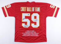 Will Shields, Ed Podolak, & Nick Lowery Signed Jersey (Beckett LOA) at PristineAuction.com