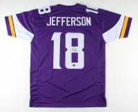 Justin Jefferson Signed Jersey (Beckett COA) at PristineAuction.com
