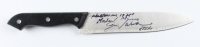 """Jim Winburn Signed """"Halloween"""" Stainless Steel Knife Inscribed """"Michael Myers"""" & """"Halloween 1978"""" (Legends COA) at PristineAuction.com"""