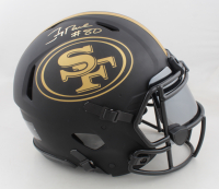 Jerry Rice Signed 49ers Full-Size Authentic On-Field Eclipse Alternate Speed Helmet (Beckett COA) at PristineAuction.com