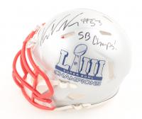 Kyle Van Noy Signed Patriots Super Bowl LIII Speed Mini Helmet (Beckett COA) at PristineAuction.com