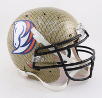 Drew Lock Signed Full-Size Authentic On-Field Hydro Dipped Helmet (Beckett Hologram) at PristineAuction.com
