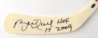 "Brett Hull Signed Franklin Hockey Stick Inscribed ""HOF 2009"" (Schwartz Sports COA) at PristineAuction.com"