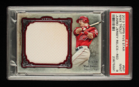 Mike Trout 2013 Topps Five Star Jumbo Jersey Red #MT #17/25 (PSA 9) at PristineAuction.com