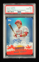 Mike Trout 2013 Topps Spring Fever Autographs #MT #28/51 (PSA 10) at PristineAuction.com