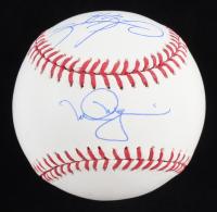 Mark McGwire & Sammy Sosa Signed OML Baseball (Beckett COA, Steiner Hologram & MLB Hologram) at PristineAuction.com