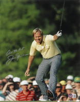 """Jack Nicklaus Signed 11x14 Photo Inscribed """"All The Best"""" (Beckett LOA) at PristineAuction.com"""