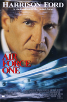 """Harrison Ford Signed """"Air Force One"""" 26x40 Movie Poster (Beckett LOA) (See Description) at PristineAuction.com"""