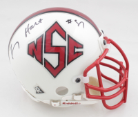 Torry Holt Signed NC State Wolfpack Mini Helmet (Holt Hologram) at PristineAuction.com