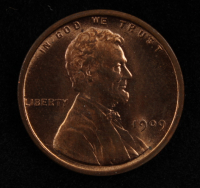 1909 VDB Lincoln Wheat Cent Penny at PristineAuction.com