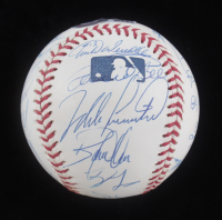 2003 Phillies OML Baseball Signed by (23) With Larry Bowa, Jimmy Rollins, Bobby Abreu, Mike Lieberthal (Beckett LOA) at PristineAuction.com