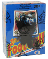 1982 Topps Football Wax Box of (36) Packs (BBCE Certified) at PristineAuction.com