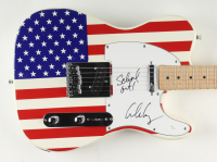 """Alice Cooper Signed 40"""" Electric Guitar Inscribed """"Schools Out!"""" with Fender Bag (JSA COA) (See Description) at PristineAuction.com"""