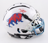 Zack Moss Signed Full-Size Authentic On-Field F7 Helmet (Beckett Hologram) at PristineAuction.com